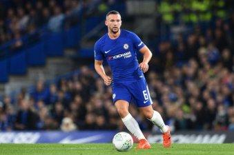 Chelsea's English midfielder Danny Drink